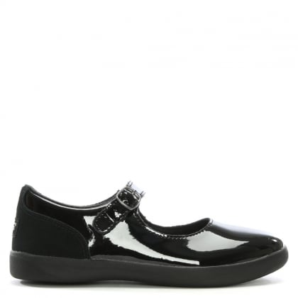 Kid's Dorothea Black Patent Leather Mary Janes
