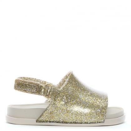 7ad8d7e5b1df Kid s Mini Gold Glitter Sliders