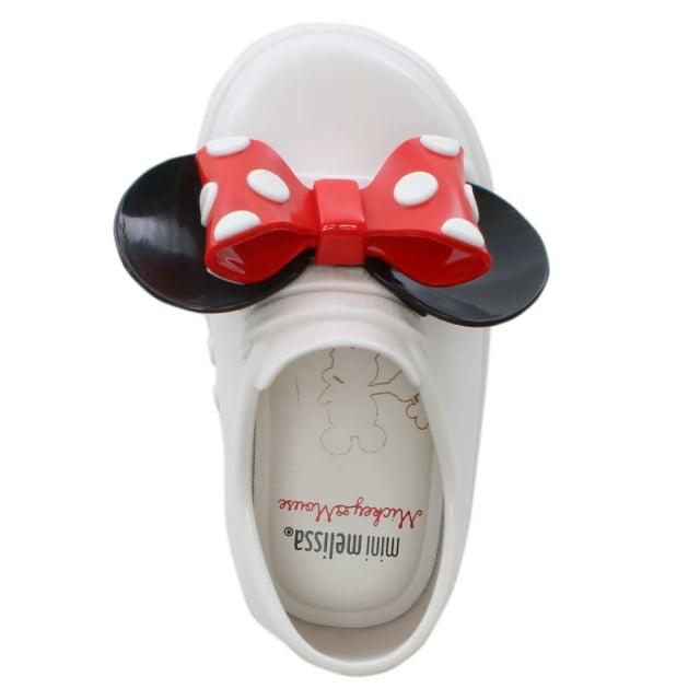 Melissa Kids Mini Minnie Mouse White Trainers