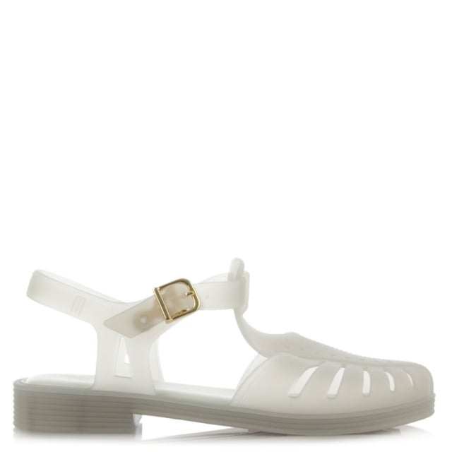 Kids Aranha 1979 White Jelly Shoe