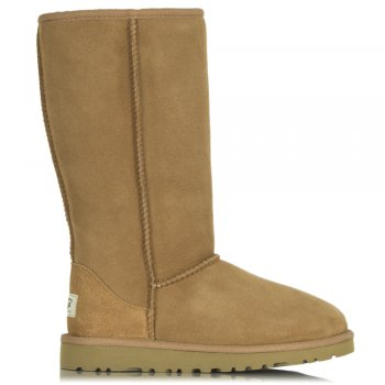 Kids Classic Chestnut Tall Sheepskin Boot