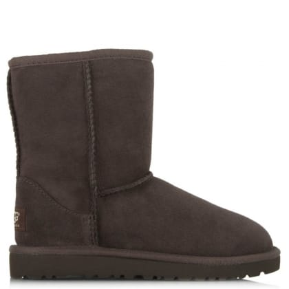 Kid's Classic Chocolate Suede Twinface Boot