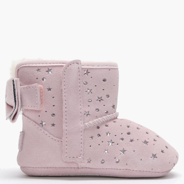 77129d8927f Kid's Jesse Bow II Star Girl Baby Pink Suede Booties