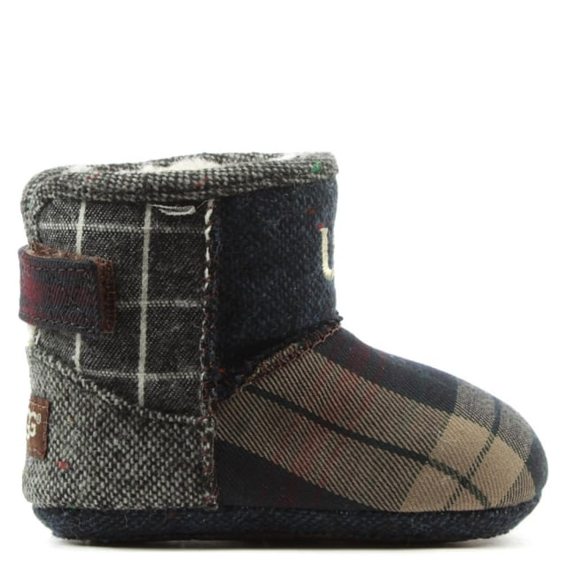 Kids Jesse Thriller Multicoloured Patchwork Bootie