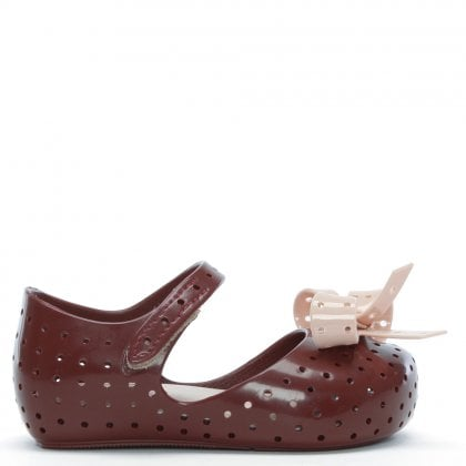 Kids Mini Furadinha Raisin Contrast Mary Janes