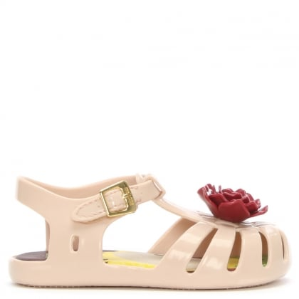 Kid's Mini The Little Prince Nude Aranha Jelly Shoes