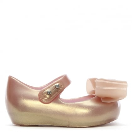 Kid's Mini Ultragirl Bow Blush Pumps