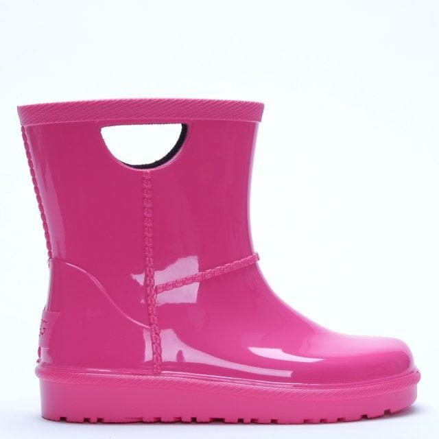 c3fcc7508bc Kid's Rahjee Diva Pink Rain Boots