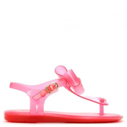 Kid's Solar Bow Pink Sandal