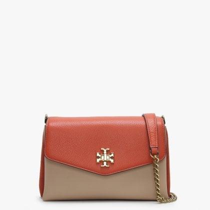 c494a3d307c Kira Colour-Block Lava Leather & Suede Cross-Body Bag