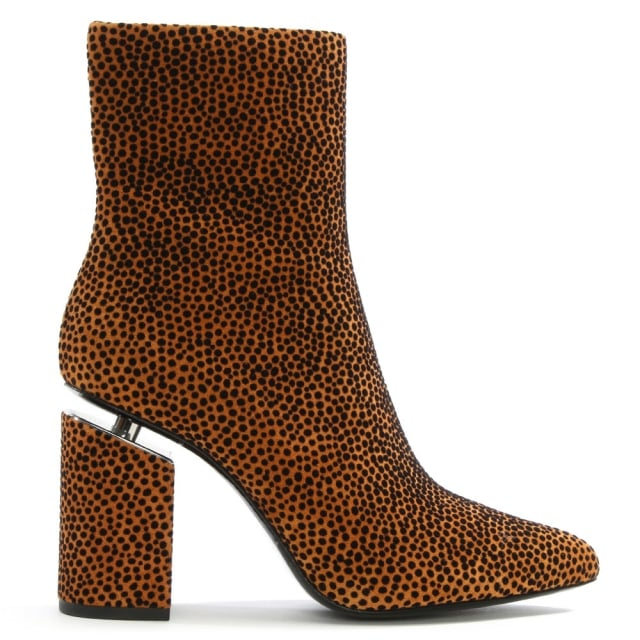 Alexander Wang Kirby Brown Suede Ankle Boots