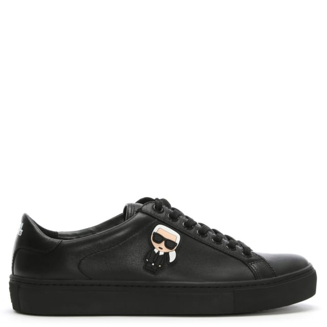Kupsole Ikonic Black Leather Trainers