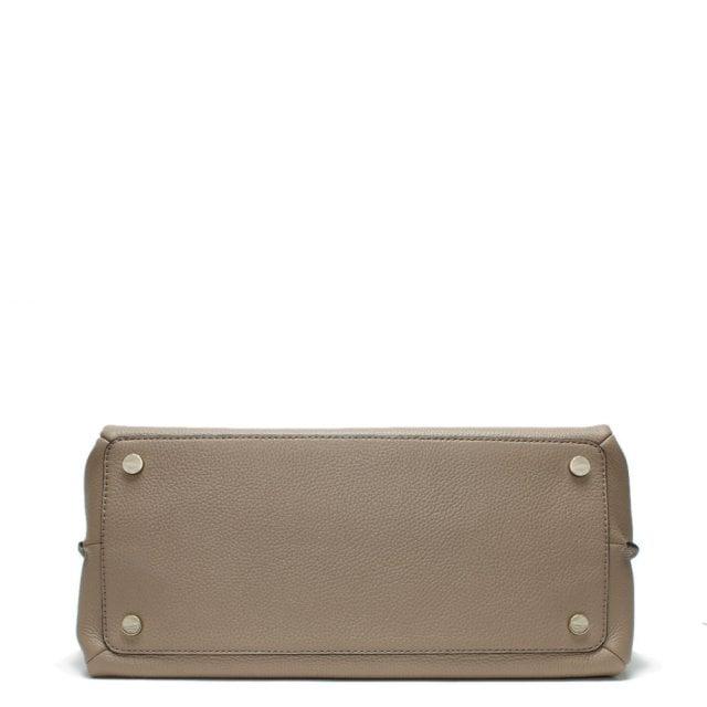 a8c8ad6e8b67 Michael Kors Large Addison Pebbled Truffle Leather Tote Bag
