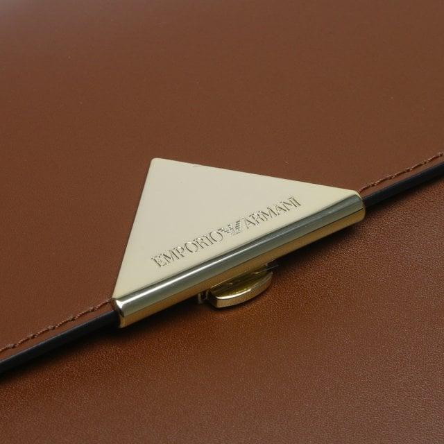 4afd63487 Emporio Armani Large Borsa Tan Top Handle Tote Bag