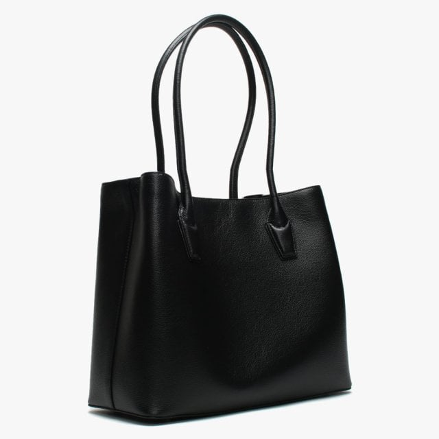e69996320 DKNY Large Elissa Black Leather Tote Bag