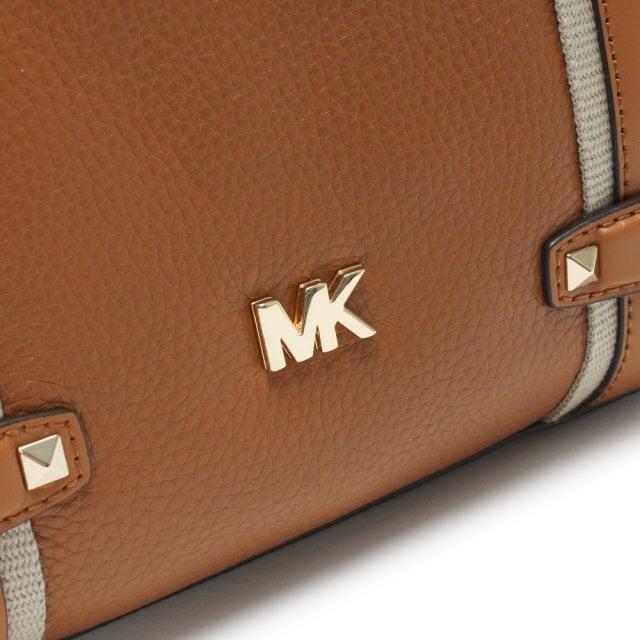 8593d4afdd12 Michael Kors Large Griffin Acorn Leather Satchel Bag
