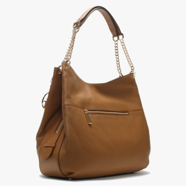 63e6e0752e99 Michael Kors Large Lillie Acorn Pebbled Leather Shoulder Tote Bag