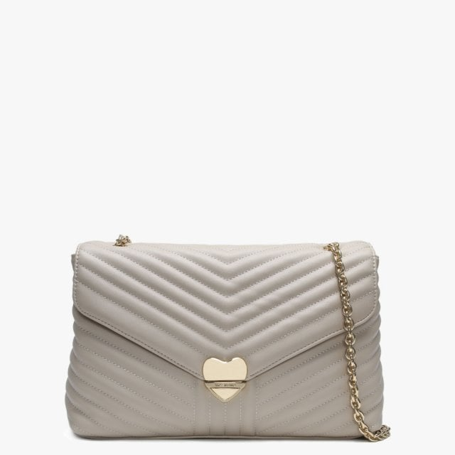 6a4218836132 Valentino By Mario Valentino Large Rapunzel Beige Quilted Shoulder Bag