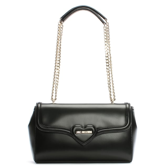 Love Moschino Laura Black Shoulder Bag