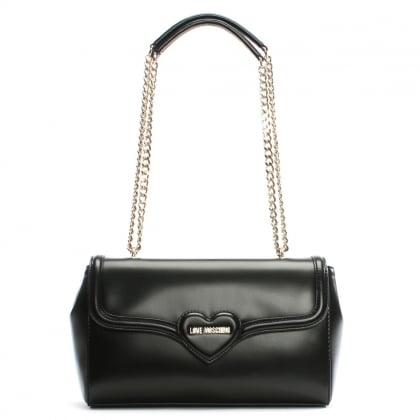 Laura Black Shoulder Bag
