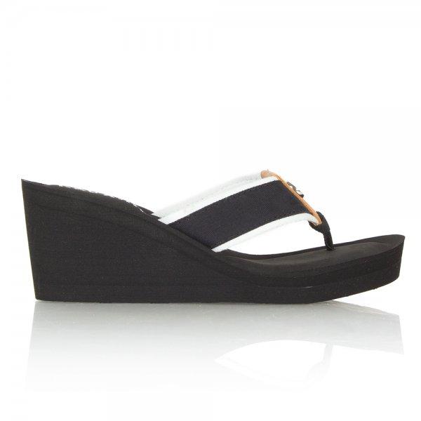 c2cd1a34b02b Lauren by Ralph Lauren Black Jane Wedge Women s Sandal