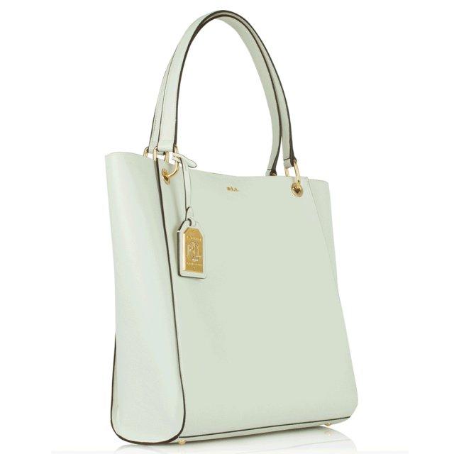 White Aiden Ns Tote Bag