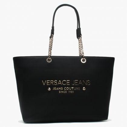 a6e1c23597 Lena Black Chain Handle Shopper Bag. Sale. Versace Jeans ...