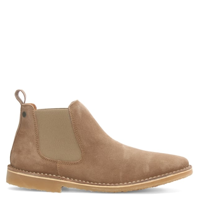 Jack & Jones Leo Tan Suede Chelsea Boot