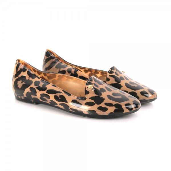 859803690d6 Melissa Virtue Women s Flat Leopard Print Loafer