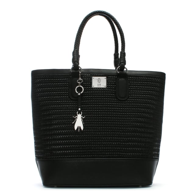 lile-black-woven-shopper-bag