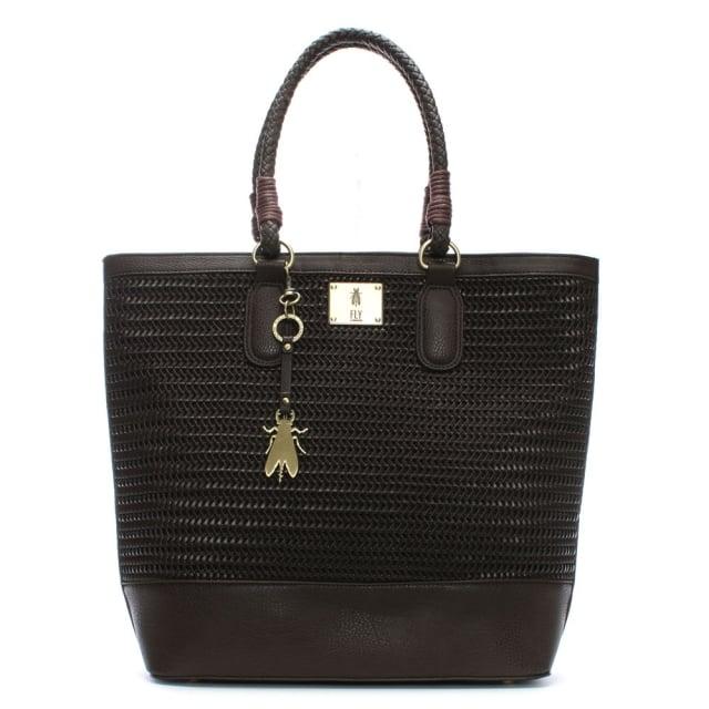 lile-dark-brown-woven-shopper-bag