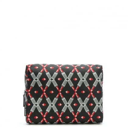 Lipstick Black Wash Bag