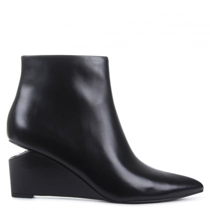 Liv Black Ankle Boot