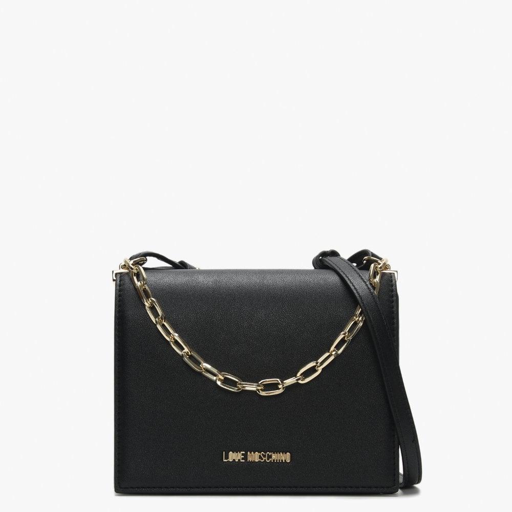 moschino chain crossbody bag