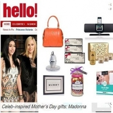 Hello Magazine- Mother's Day Gift Guide 2012