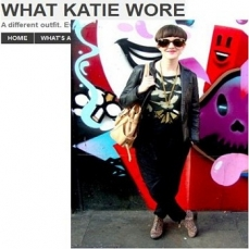 What Katie Wore- Features Daniel Chelson Ankle Boot