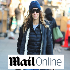 The 90's duvet jacket is making a come back: Mail Online