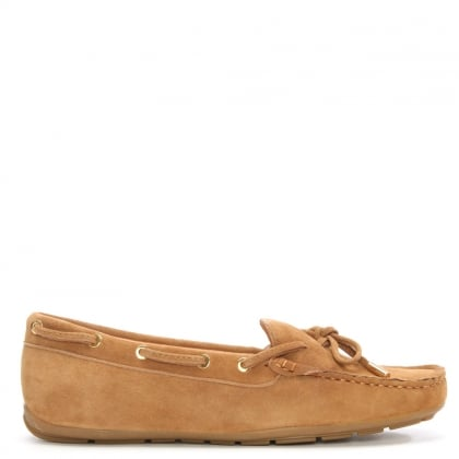 Lorrimer Tan Suede Loafer