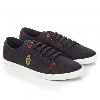 Luke 1977 Black Perus Mens Trainer