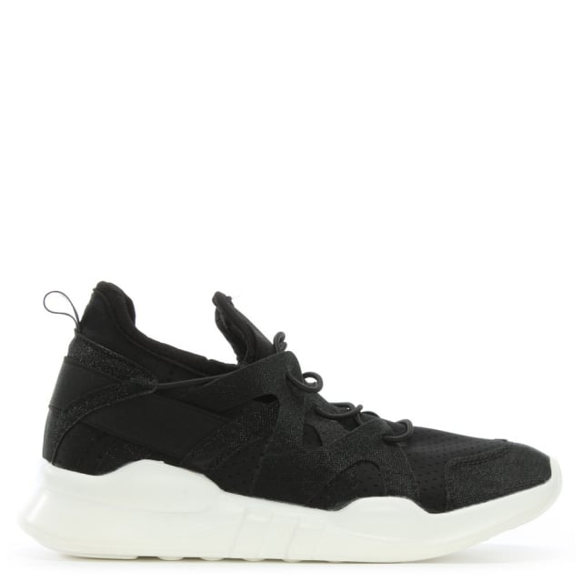 Luli Black Sporty Trainers