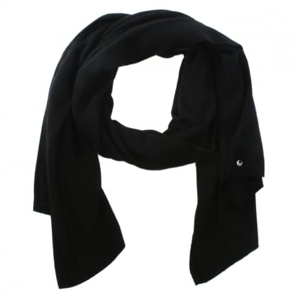 Luxe Black Cashmere Oversized Wrap