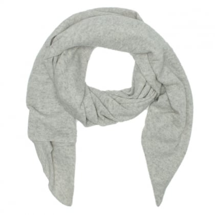 Luxe Graphite Heather Cashmere Oversized Wrap