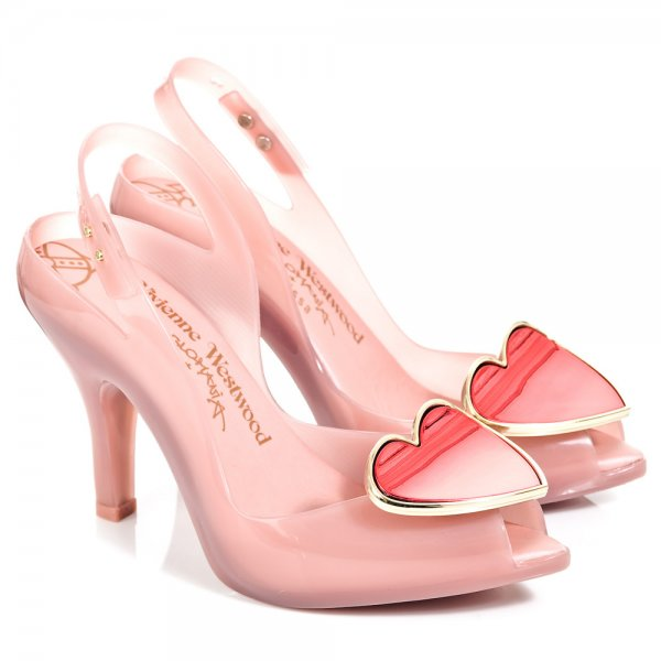 Vivienne Westwood Lady Dragon Heart Heeled Shoes jYLijCBH