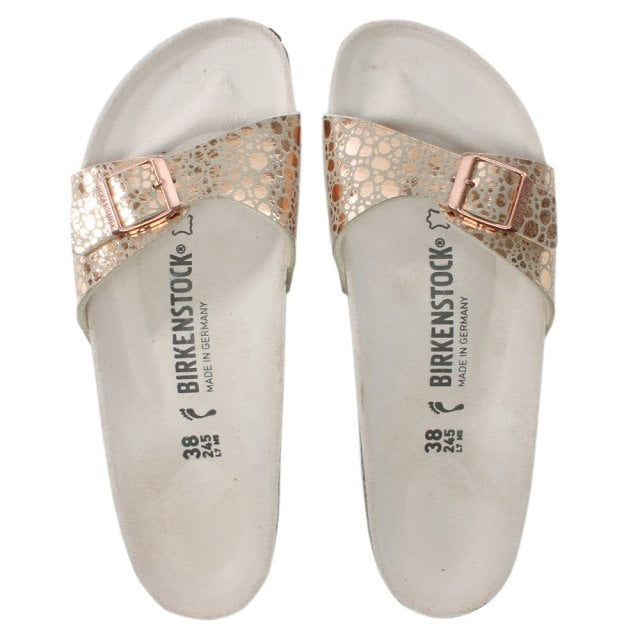 e9e05dfac63 Birkenstock madrid metallic stones copper leather mules jpg 640x640 Metallic  stones