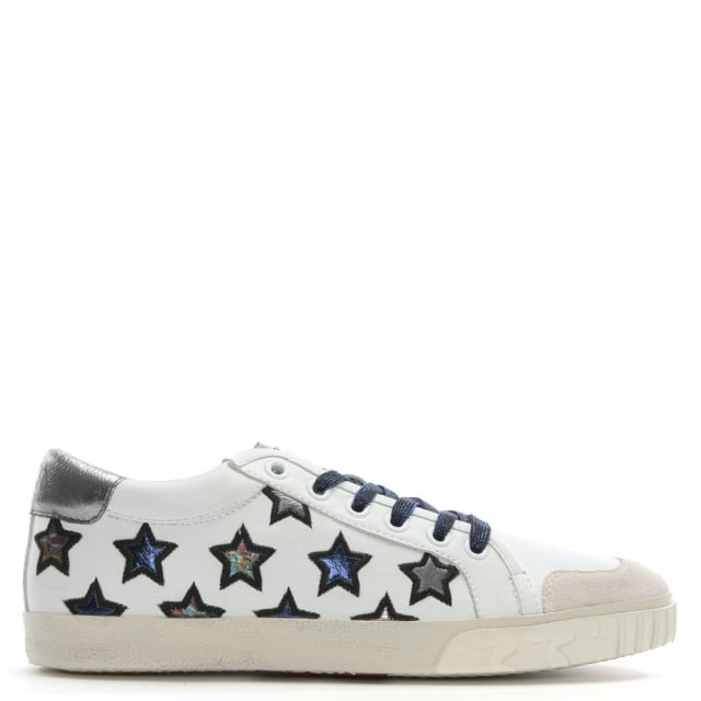 majestic-navy-metallic-leather-star-motif-trainers