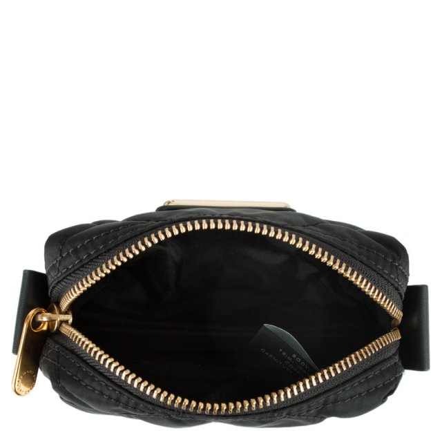 f9f8f458b927 Marc By Marc Jacobs Crosby Quilted Small Black Nylon Cosmetic Case
