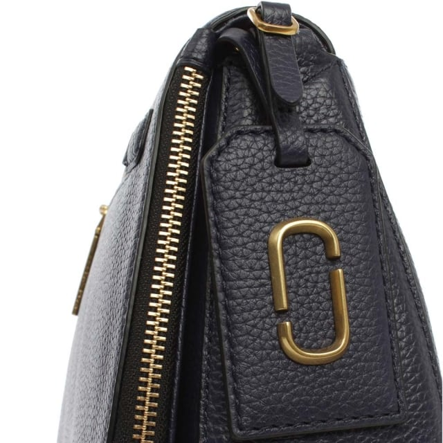 fbbdd230418f Marc Jacobs Gotham City Midnight Blue Saddle Bag