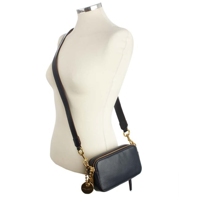 feb6531081b6 Marc Jacobs Recruit Camera Midnight Blue Cross-Body Bag