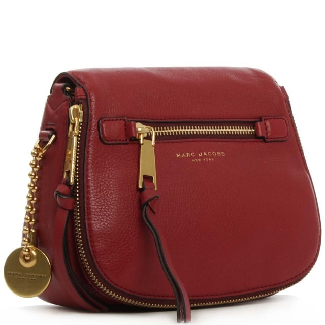 efe70df54d72 Marc Jacobs Recruit Ruby Rose Leather Saddle Bag