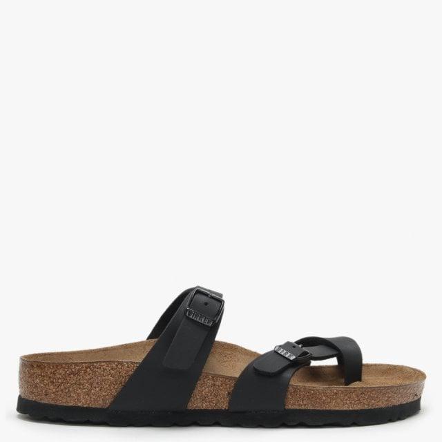 b7005c8baef9 Birkenstock Mayari Black Birko-Flor Thong Sandals